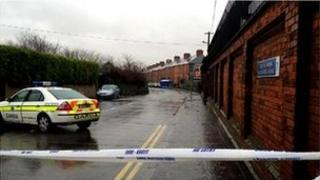 Murder scene Dublin