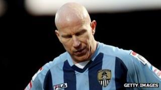 Notts County striker Lee Hughes