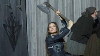 Annemarie Kremer in Opera North's Norma