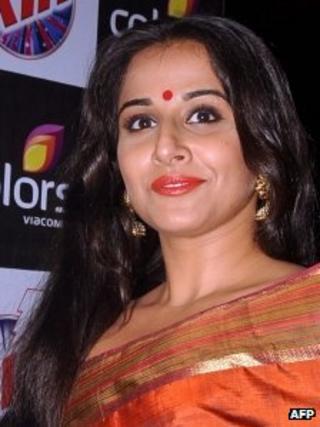 Vidya Balan, file pic