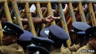 Police in Sri Lanka (January 2012)