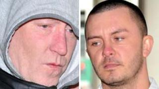 Steven Malcolm and Lee Platt both admitted handling stolen goods and blackmail