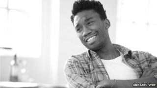 Nathan Stewart-Jarrett in rehearsals (Photo: Annabel Vere)
