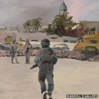 The Long Walk by Sgt Maj Douglas Farthing