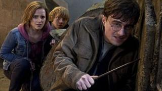 Scene from Harry Potter and the Deathly Hallows Part 2