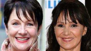 Miriam O'Reilly and Arlene Phillips