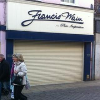 Francis Wain jewellery shop