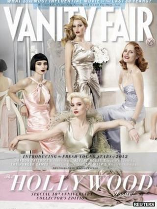 Vanity Fair cover by Mario Testino