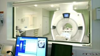 New MRI scanner at Norfolk and Norwich University Hospital