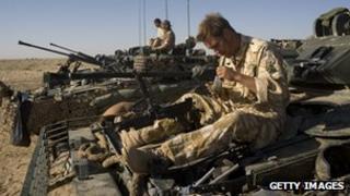 British troops in Helmand Province, Afghanistan