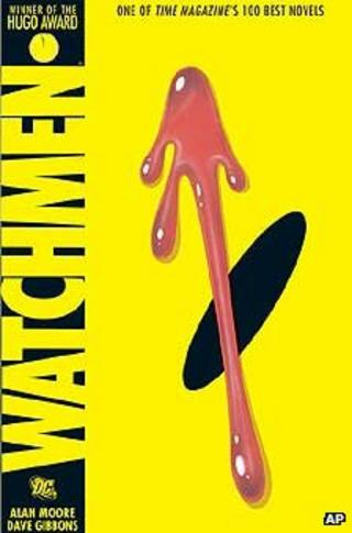 Watchmen graphic novel cover