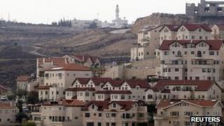 Jewish settlement of Efrat (22 December 2011)