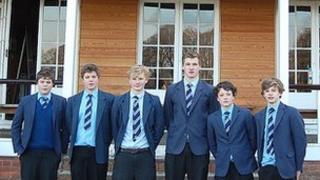 Dauntsey's School Under 15s squad