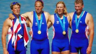 The GB coxless four in 2000: (L-R) James Cracknell, Sir Steve Redgrave, Tim Foster and Sir Matthew Pinsent