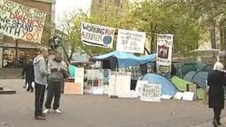 Occupy Norwich protest camp