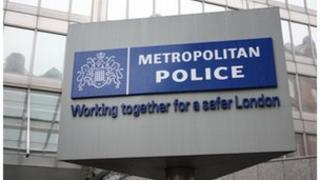 Met Police sign