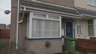 The house in Barcroft Street, Cleethorpes