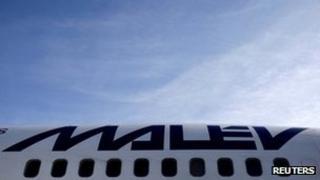 Malev aircraft