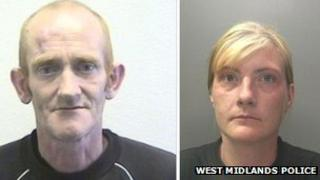 Raymond McEnery and Dana Webb - Copyright: West Midlands Police