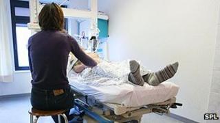 Hospital emergency admission