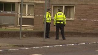 Ferguslie Park assault scene