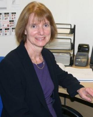 Head teacher Linda Green