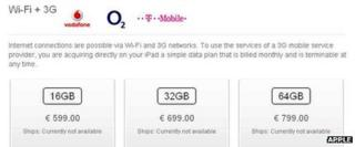 Apple's German online store