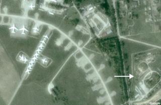 Seshcha airbase, Russia