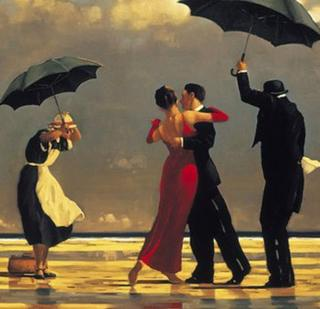 Jack Vettriano's The Singing Butler