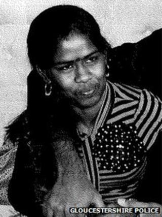 A photo of Kokulavathani Mayuran, released by Gloucestershire Police