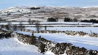 Snow at Shap
