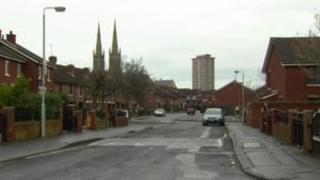 West Belfast street