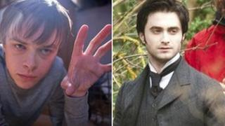 Chronicle, left, and Daniel Radcliffe, in The Woman in Black