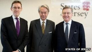 Senator Gorst, Senateur Marini and Senator Bailhache