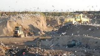 Mont Cuet landfill site in Guernsey