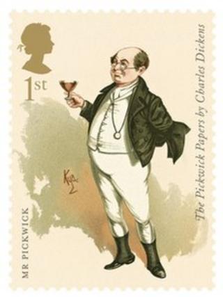 Mr Pickwick by Joseph Clayton Clarke