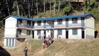 Sikles school, Nepal