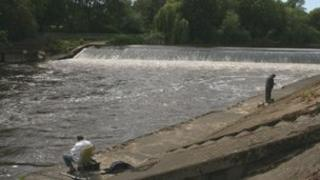Weir at Shrewsbury