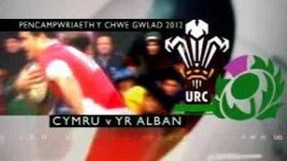 Cymru v Yr Alban
