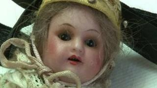The doll found at Bergen-Belsen