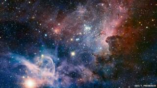 Carina Nebula, a huge star formation