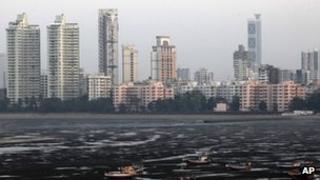 Mumbai skyline, file pic