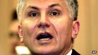 Ex-Serbian prime minister Zoran Djindjic