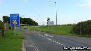 A75 at Dunragit by Andy Farrington