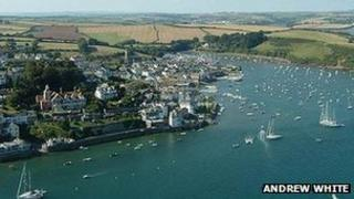 Salcombe Harbour. Pic: Andrew White