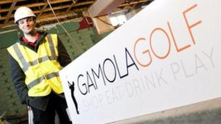 Graeme Masterton of Gamola Golf