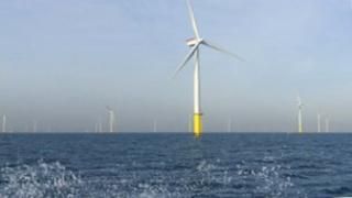 Walney Offshore wind farm