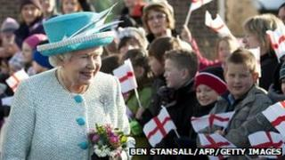 The Queen. Photo: Ben Stansall/AFP/Getty Images