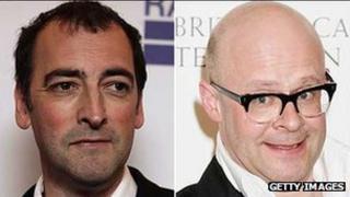 Alistair McGowan and Harry Hill
