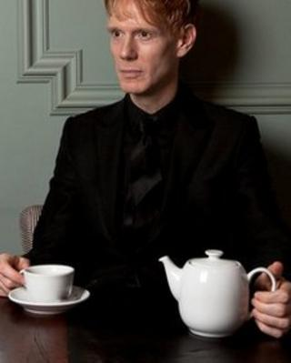 British Library artist-in-residence Christopher Green